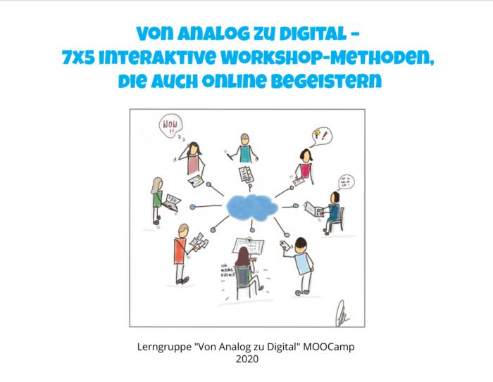 7×5 interaktive Workshop-Methoden, die auch online begeistern